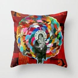 Maria (mãe de Jesus) Mary (mother of Jesus) #1 Throw Pillow