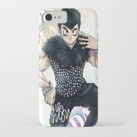 dbz iPhone & iPod Cases featuring + DBZ - Seungri + by MitsuBlinger