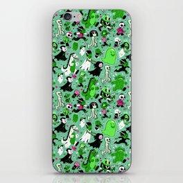 Alt Monster March (Green) iPhone Skin
