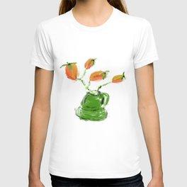 red rosehip berry T-shirt
