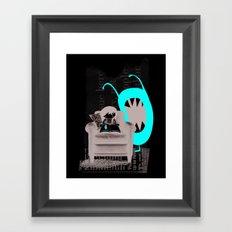 Reading is Cool Framed Art Print