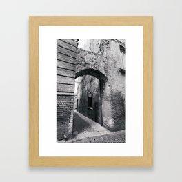 Embellishing Arch Framed Art Print
