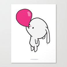 Mononoco with Bubble Gum  Canvas Print