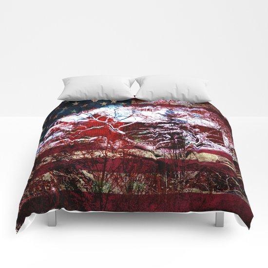 Patriotic American Barn Comforters