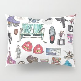 Indiana Objects Pillow Sham