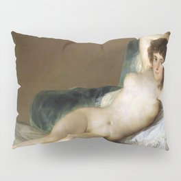 Maja Desnuda (The Nude Maja) by Francisco Goya Pillow Sham