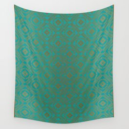 Pattern_Gold Wall Tapestry