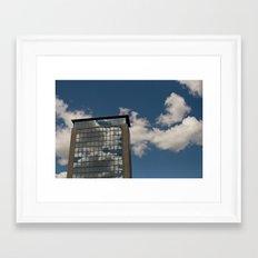 natural trasparency Framed Art Print