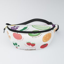 ABC Fruit and Vege Fanny Pack