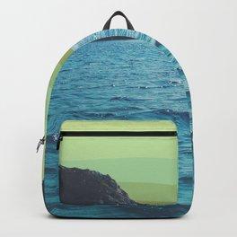 Lime Sky in Ocean Exit Backpack