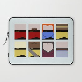Enterprise 1701 D - Minimalist Star Trek TNG The Next Generation - startrek - Trektangles  Laptop Sleeve