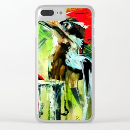 Morning Woody Clear iPhone Case