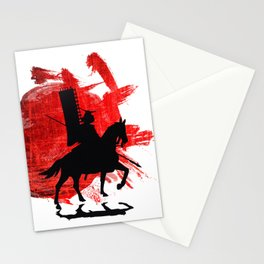 Japan Samurai Stationery Cards