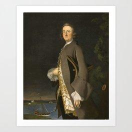 Joseph B. Blackburn - Portrait of Captain John PigottJoseph B. Blackburn - Portrait of Captain John Art Print