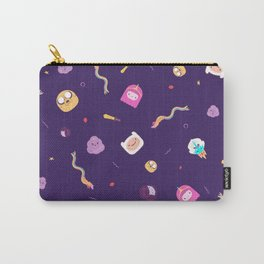 Aventure time pattern Carry-All Pouch