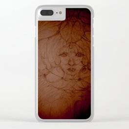 Thus she spoke to the water Clear iPhone Case