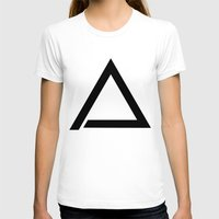 triangle T-shirts featuring TRIANGLE by eARTh