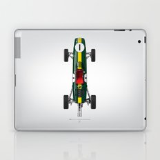 Outline Series N.º1, Jim Clark, Lotus 25-Coventry Climax 1962 Laptop & iPad Skin