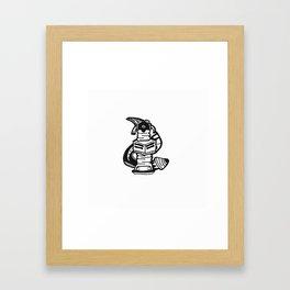 8 Framed Art Print