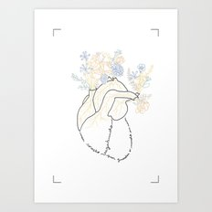 Vagabond Heart Art Print