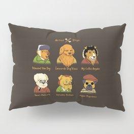 Artist Dogs Pillow Sham