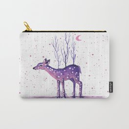 Rooted Deer Carry-All Pouch
