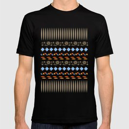 Day of the Dead Tribal Repeat T-shirt