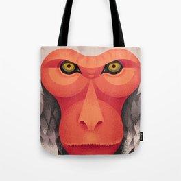 Japanese Monkey Tote Bag