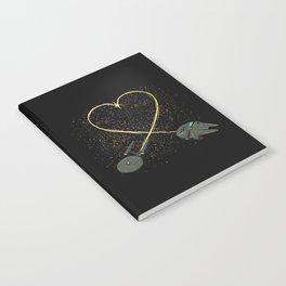 Wars Love Notebook