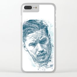 Tom Hardy Clear iPhone Case