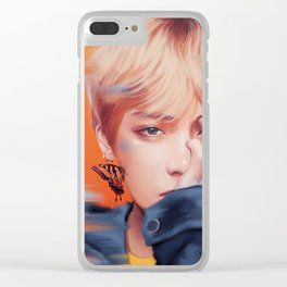V - Butterfly Clear iPhone Case