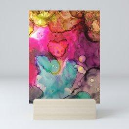 galactic drip Mini Art Print