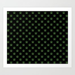 All over print for cannabiznoids leggings Art Print