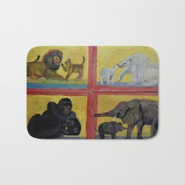 Animal Crackers Free at Last 1 Bath Mat