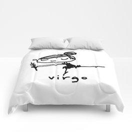 virgo dancey-pants Comforters