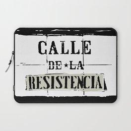 Calle de la Resistencia Laptop Sleeve