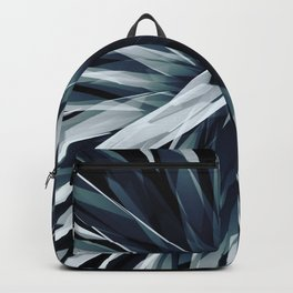 Perspective Facets-Retro Blue Backpack
