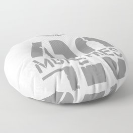 420 Munchies Weed leaf Floor Pillow