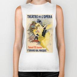 Belle Epoque vintage poster, French Theater, Theatre de L'Opera Biker Tank