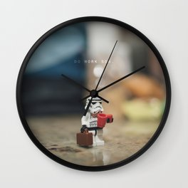 Do Work Son Wall Clock