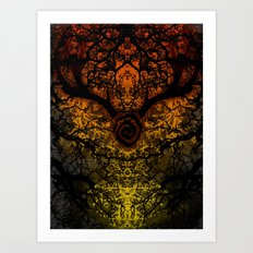 Journey to Carcosa ( True Detective ) Art Print
