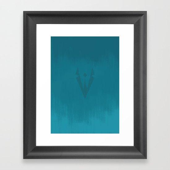 Alien Revolution Logo Framed Art Print