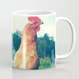 The Life of a Chicken Coffee Mug