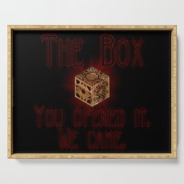 Hellraiser The Box You Opened It Serving Tray