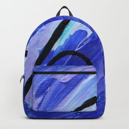 Down dog abstract Backpack