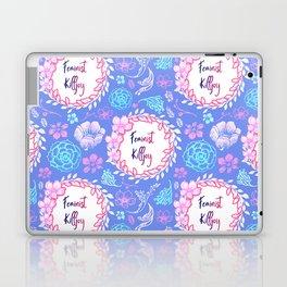 Feminist Killjoy - Beautiful Floral Print Laptop & iPad Skin