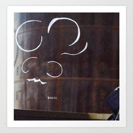 Ant Take a Shower Art Print