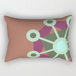 Mirrors Rectangular Pillow