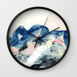 abstract painting II Wall Clock