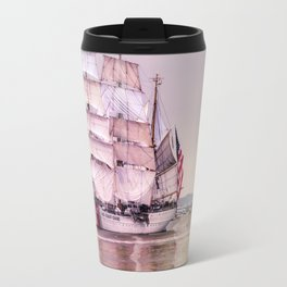 Tall Ships in Boston -USCG Travel Mug